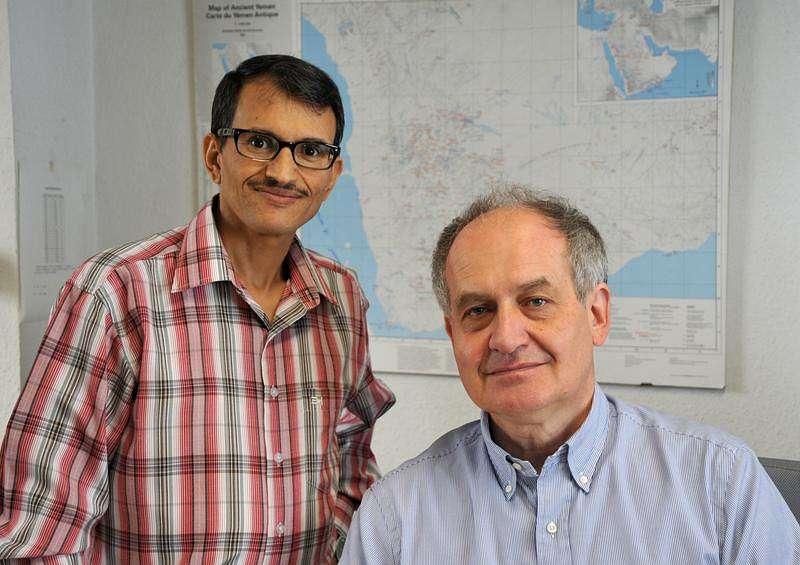 Prof. Dr. Mohammed Salami und Prof. Dr. Norbert Nebes