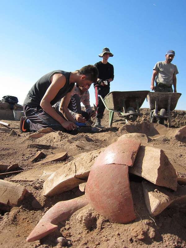 Ausgrabungen einer hethitischen Stadt