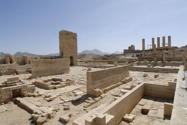 Die Tempelanlage (Foto: DAI)