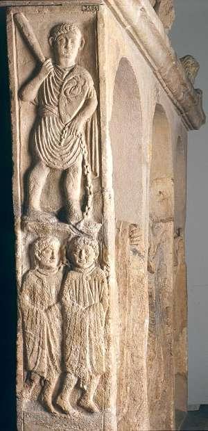 Grabstein aus Nickenich bei Mayen