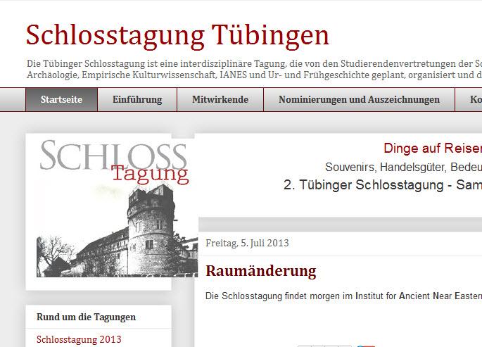 Schlosstagung Tübingen