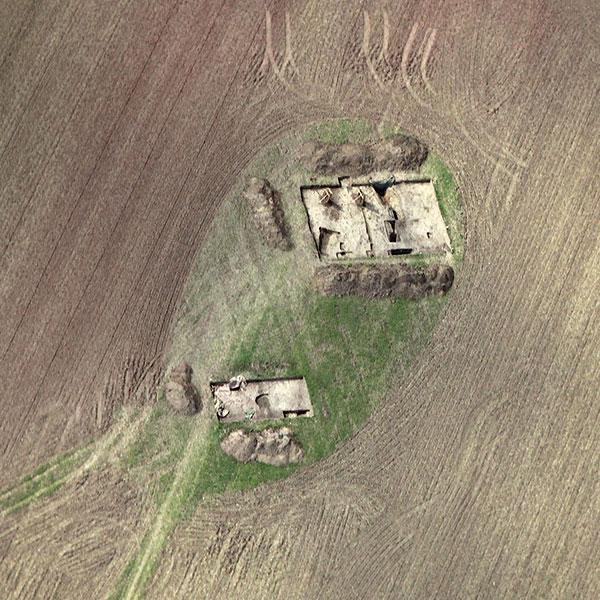 Luftbild Ausgrabung Watenstedt