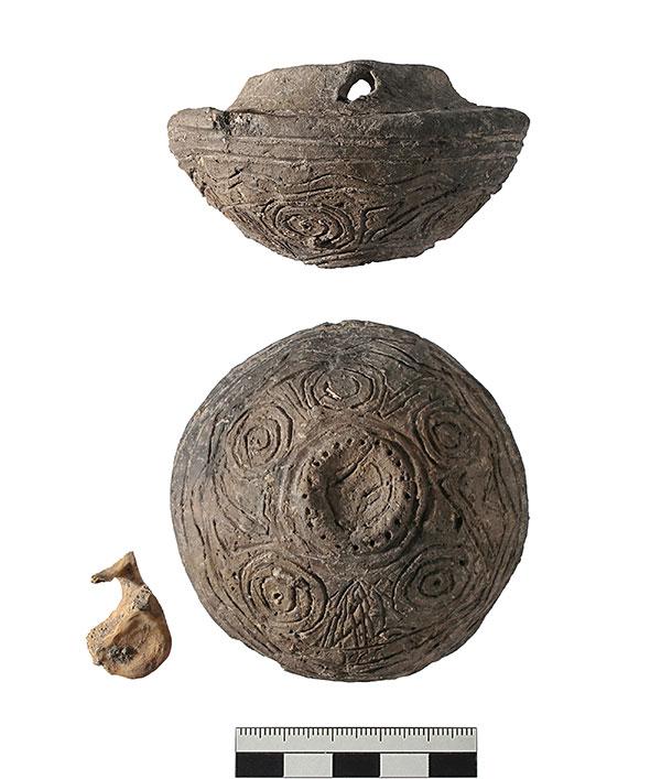 Bronzebecken-Nachbildung