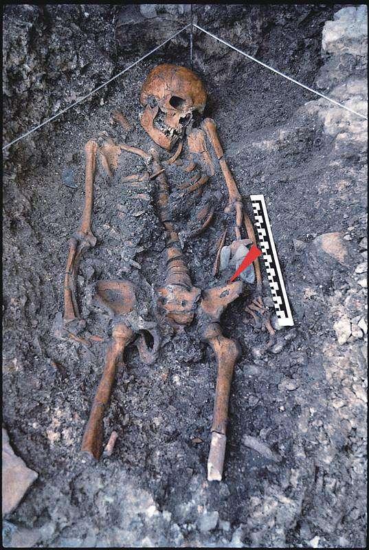 14.000 Jahre altes Skelett