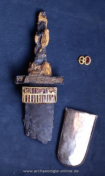 Fragmentiertes Schwert von Bräunlingen
