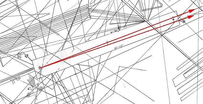 Abb. 7| Plejaden - Dreieck (Grafik: B. Teichert)