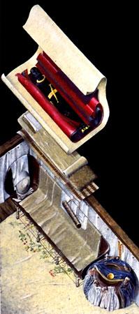 Hochdorf: Rekonstruktion der Bestattung