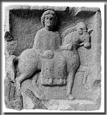 Epona-Relief aus Freiberg-Geisingen (Kr. Ludwigsburg), 2./3. Jh. n.Chr. (Foto: RP Stuttgart, LDA)